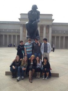 On April 24 the Advanced Placement (AP) European history class journeyed to the San Francisco Bay Area to study the art found in the Legion of Honor Museum.