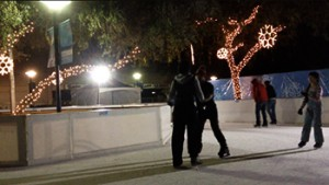 Since it's beginnings the Fulton Ice Rink has  accommodated thousands of visitors and continues to thrive during Fresno's chilly months.