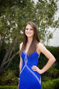 Erin Wilson, 18', is in the running for Freshman homecoming Princess, Oct. 27.